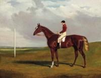 Hornsea, winner of the 1836 Goodwood Cup, with Bill Scott up